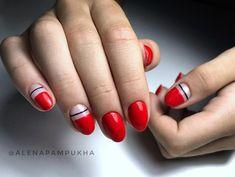 """⠀⠀⠀⠀⠀⠀⠀⠀⠀⠀Алена Пампуха on Instagram: """"✅ теперь девчонки так собираются в #пионерлагерь 😁  Яркие и необычные для малышки @olmv_ #instanails #gelnails #nails #mywork #дизайнногтей…"""" Simple Nail Designs, Simple Nails, Beauty, Plain Nails, Simple Nail Design, Beauty Illustration, Easy Nails"""