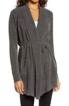 Free shipping and returns on Barefoot Dreams® CozyChic Ultra Lite™ Cardigan at Nordstrom.com. Layer on lightweight warmth and cozy style with this sumptuously soft cardigan that goes seamlessly from idle hours to afternoons out. Cozy Fashion, Autumn Fashion, Fashion Outfits, Fall Outfits, Luxury Fashion, Barefoot Dreams Cardigan, Target Style, Nordstrom Anniversary Sale, Blue Sweaters