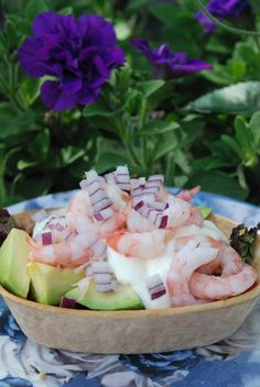 Smaskelismaskens: Räkbåtar med citronkräm Simply Recipes, Fish And Seafood, Diy Food, I Love Food, Summer Recipes, Appetizer Recipes, Food Inspiration, Tapas, Food To Make