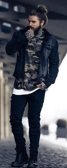 15 Bearded Men Outfit Ideas To Set Fashion Trends Bearded men outfit ideas that will guide you through which outfit will go well with your bearded look! Set Fashion, Party Fashion, Fashion Trends, Fashion Ideas, Beard Fashion, Fashion Boots, Chubby Men Fashion, Fashion Guide, Womens Fashion
