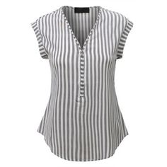 LE3NO Womens Sleeveless Striped Front Zip Up Blouse Top