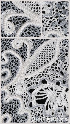 Irish Crochet, Crochet Lace, Irish Lace, Simple Designs, Needlework, Tutorials, Youtube, Pattern, Simple Drawings
