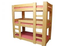 Harry 3 persoons stapelbed, €399,-