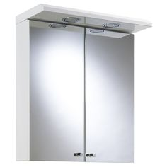 Buy Argos Home 2 Door Steel Wall Cabinet - White at Argos. Thousands of products for same day delivery or fast store collection. Wall Mounted Medicine Cabinet, Wall Mounted Mirror, Mirror Door, Bathroom Medicine Cabinet, Illuminated Bathroom Cabinets, White Bathroom Cabinets, Mirror Cabinets, Mirror Cabinet With Light, Steel Cabinet
