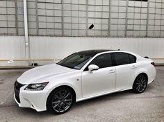 2014 Lexus GS 350 F Sport White