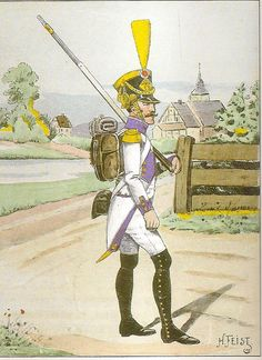 French; 33rd Line Infantry, Voltigeur, Grande Tenue, 1806-07