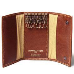 The Lapo Leather Key Wallet for Men