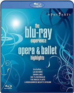 The Blue Ray Experience: Opera and Ballet Highlights - Importado