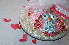 how to use one biscuit cutter to make owl cookies