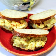 Inspired By eRecipeCards: Egg Salad - Goin' Old School - 52 Church PotLuck Dishes (potluck ideas sliders) Potluck Dishes, Potluck Recipes, Side Dish Recipes, Salad Recipes, Cooking Recipes, Sandwich Recipes, Potluck Ideas, Lunch Ideas, Dinner Ideas