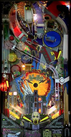 """The Addams Family"" Addams Family Pinball, Flipper Pinball, Video Game Machines, Pinball Wizard, Penny Arcade, Arcade Machine, Film, Arcade Games, Rock And Roll"