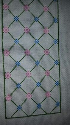 This Pin was discovered by müb Cross Stitch Cards, Cross Stitch Borders, Cross Stitch Designs, Cross Stitching, Cross Stitch Embroidery, Embroidery Patterns, Cross Stitch Patterns, Hand Embroidery, Pinterest Cross Stitch