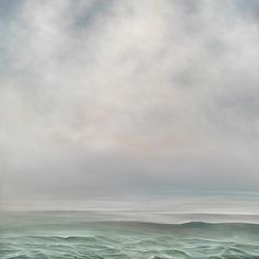 When the Fog... #531, 2014 I Oil on panel I 36 x 36 inches