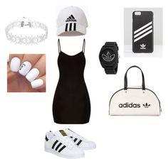 """""""Adidas for life🤞🏻"""" by kleahuli-i on Polyvore featuring moda, adidas e adidas Originals"""