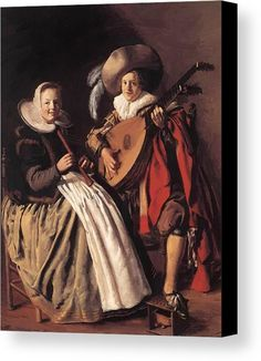 Jan Miense Molenaer (Dutch, 1610 ~ Music Making Couple ~ Jan Miense Molenaer, was a Dutch Golden Age genre painter whose style was a precursor to Jan Steen's work during Dutch Golden Age painting. Renaissance Music, Seattle Art Museum, Dutch Golden Age, Dutch Painters, Art Prints, Canvas Prints, Art Music, Lovers Art, Canvas Art