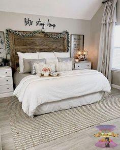غرف نوم بنات مودرن للصبايا من احدث ديكورات غرف الفتيات المراهقات 2021 Farmhouse Style Master Bedroom Small Master Bedroom Master Bedroom Makeover