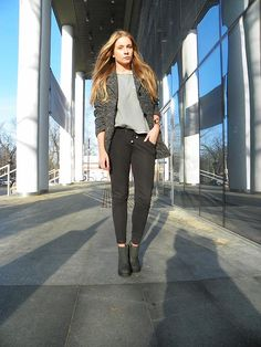 Shop this look on Kaleidoscope (coat, bootie) http://kalei.do/XHEdWI8HGezRMeLG