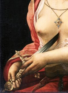 — c0ssette:  The Suicide of Lucretia (Detail)...