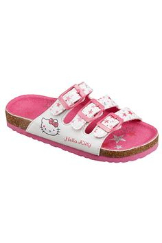 Hello Kitty Sandal med stjärnor Birkenstock Florida, Hello Kitty, Sandals, Shoes, Fashion, Moda, Shoes Sandals, Zapatos, Shoes Outlet