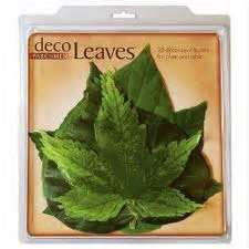 French leaves for your cheese board tree slice!