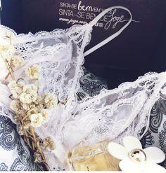 Sutiã lencinho em renda Jogê www.joge.com.br Lace triangle bra!