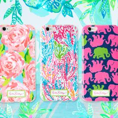 NEW Lilly Pulitzer iPhone 6 & 6 Plus Cases