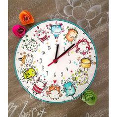Reloj Monstruitos