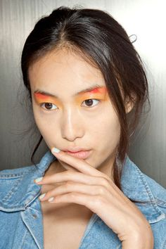 Two Tone Mani at Peter Som - The Best Spring 2013 Nail Trends to Try Now