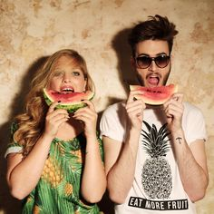 The summer is not over with this t shirt | THE ICONIST #watermelone #summer #shirt #pinaple