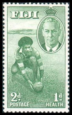 Rugby : a (small) tribute to the pioneers - Rugby History - Rugby Memorabilia Rugby Poster, Fiji Culture, Fly To Fiji, Fiji Islands, Cook Islands, International Rugby, Fiji Beach, Rugby Sport, Super Rugby