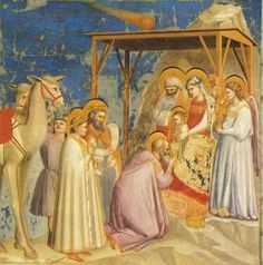 The 6th of January is the Feast of the Epiphany, the twelfth day of Christmas, which is traditionally celebrated in Ireland as Nollaig na Mban, women's little Christmas. On this day men traditionally do the housework while women celebrate at home or go out. The image is of Giotto's adoration of the Magi.