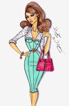 12 Stunning Fashion Sketches by Hayden Williams - Tuts+ Design & Illustration Article