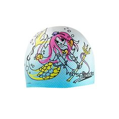 1ddc7534a784 Image for Manga Mix Silicone Cap - Elastomeric Fit from Speedo USA Swim  Caps