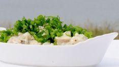 Wienersalat Mayonnaise, Sour Cream, Risotto, Potato Salad, Mashed Potatoes, Dessert, Ethnic Recipes, Food, Tv