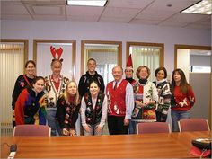 Ugly Holiday Sweater and Cookie Swap