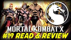 Mortal Kombat X #19 Outworld Sekret Origin (Read & Review)