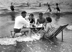 Beach Party. I remember those canvas and wood sling back chairs!
