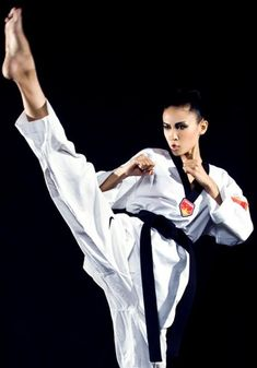 Taekwondo: i was scouted by former world champion when i was 11....! :)