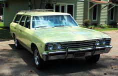 1967 Chevy Malibu station wagon