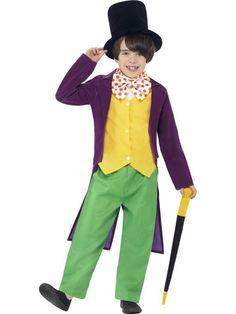 Roald Dahl Willy Wonka Costume – Mad World Fancy Dress
