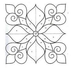 Ornaments, charts and images for applications. : Ornaments, charts and images for applications. Ornaments, charts and images for applications. Mandala Painting, Dot Painting, Mandala Art, Tile Art, Mosaic Art, Mosaic Glass, Tile Crafts, Paper Crafts, Embroidery Patterns