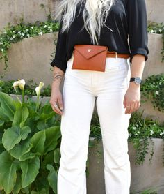 From trend to wardrobe staple, belt bags are here to stay 🌼 This classic Envelope Belt Bag will last a lifetime in both quality and style… Belt Bags, Women's Bags, Vegetable Tanned Leather, Wardrobe Staples, Leather Handbags, Envelope, Classic, Style, Fashion