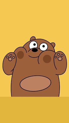We Bare Bears Wallpapers Top Free We Bare Bears throughout We Bare Bears Wallpaper Brown Bear - All Cartoon Wallpapers