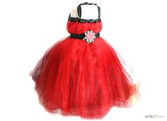 How to Make a Tutu Dress: 8 Steps (with Pictures) - wikiHow