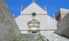 Isola di San Nicola (FG) - Abbazia di Santa Maria a Mare. http://www.hipuglia.it/abbazia-di-santa-maria-a-mare/