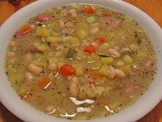 Weiße Bohnensuppe, ein schmackhaftes Rezept aus der Kategorie Kochen. Bewertungen: 14. Durchschnitt: Ø 4,3.