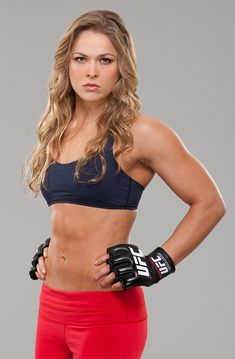 "Ronda Rousey - Female MMA - She once said after a fight ""No! She tried to punch my face"" after being asked if she felt bad about breaking her opponent's arm."