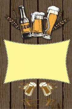 Cerveza Retro Cartel Bebida Cerveza Wood Plank Texture, Wood Planks, Container Bar, Food Park, Beer Shop, Mickey Mouse Art, Beer Poster, Beer Art, Tattoo Flash Art