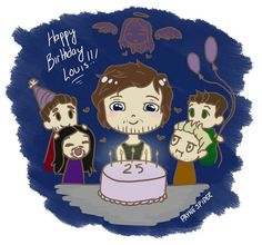 Happy Birthday Louis!!! We love you so much!! #HappyBirthdayLouis
