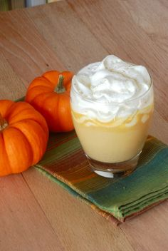 Pumpkin Pie White Hot Chocolate!